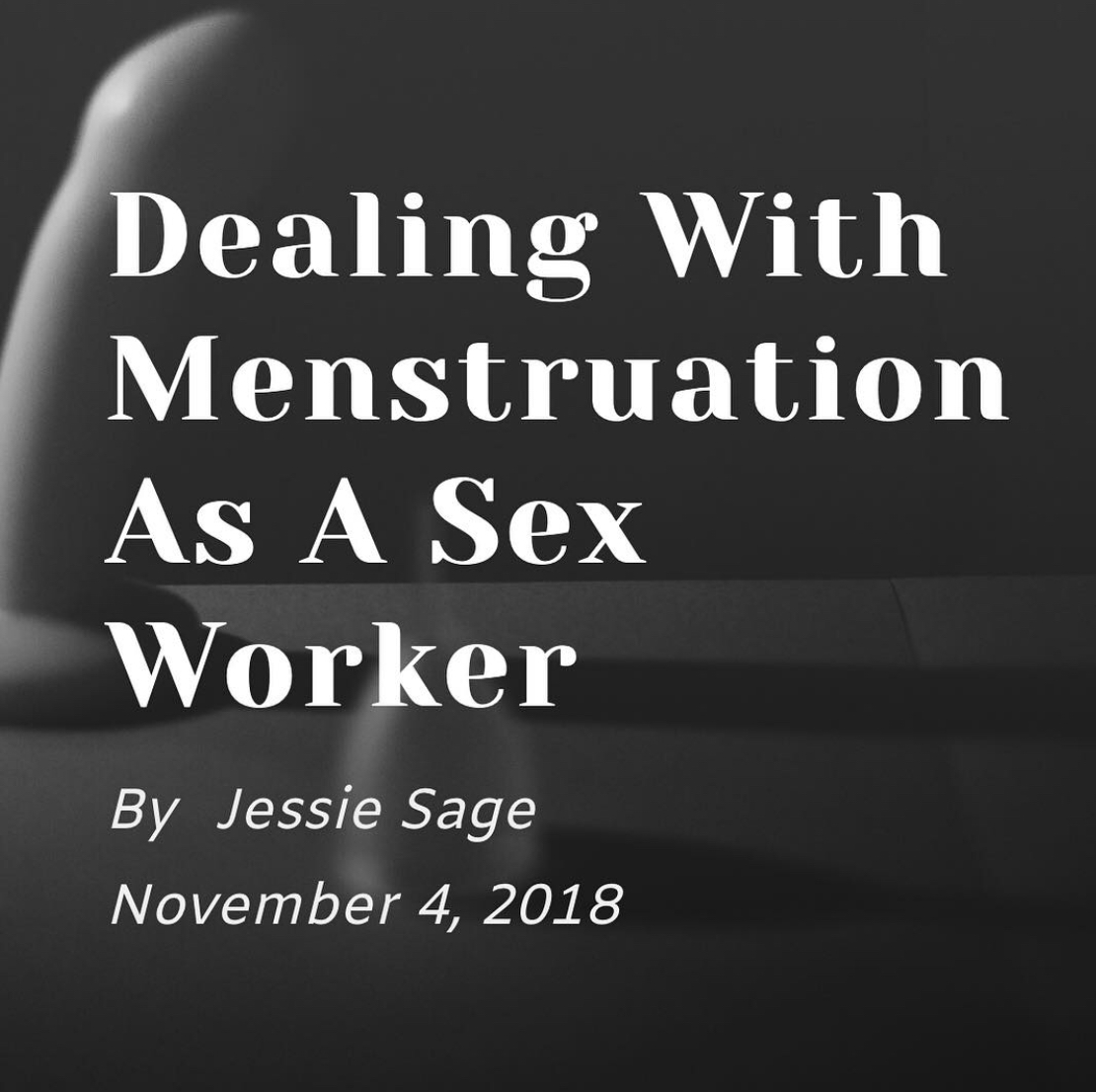 Dealing with Menstruation as a Sex Worker, On Our Moon