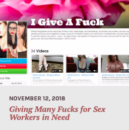 """""""Giving Many F*cks For Sex Workers In Need,"""" YNOT Cam"""