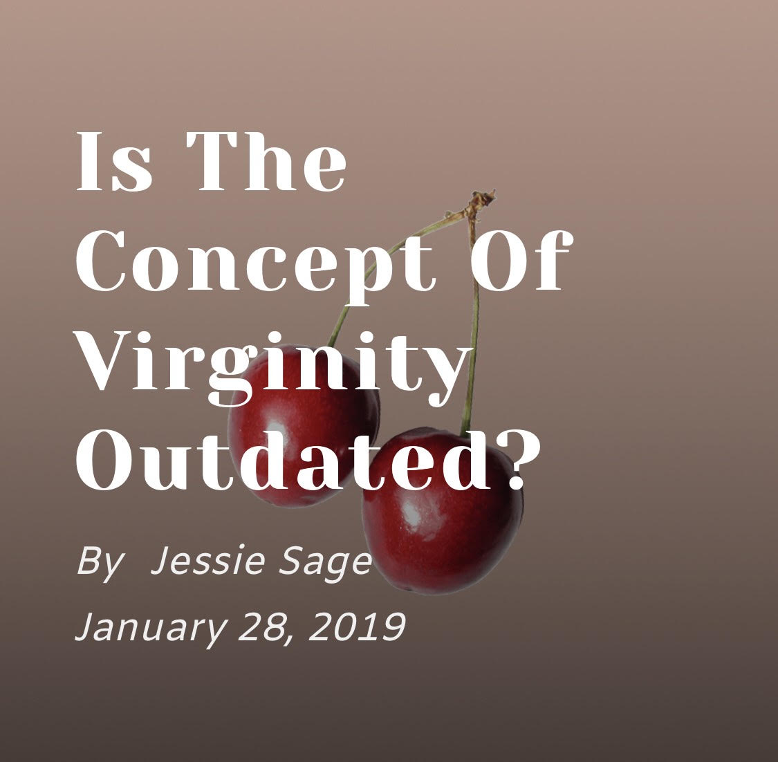 """Is the Concept of Virginity Outdated?"" On Our Moon"